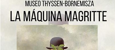 Exposicion La Maquina Magritte Actividades Culturales Estudiar en Universidad Privada Madrid