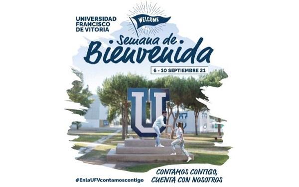 Semana de bienvenida La UFV celebra la Semana de Bienvenida de este curso 21/22 para los nuevos alumnos #EnLaUFVContamosContigo Estudiar en Universidad Privada Madrid