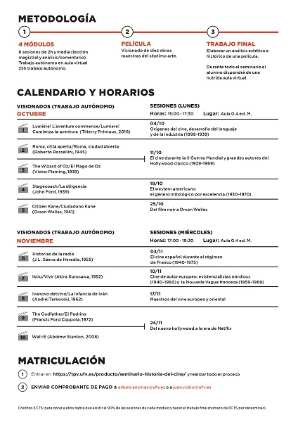 Seminario de Historia del Cine 2021 page 0002 II edición del Seminario de Historia del Cine Estudiar en Universidad Privada Madrid
